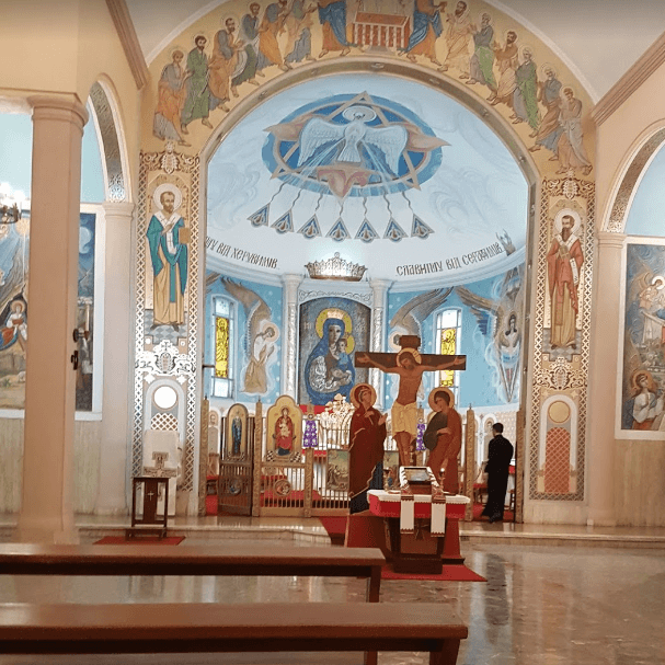 Catedral Ucraniana interior