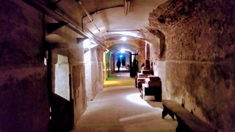Complejo Histórico Santa Felicitas tuneles