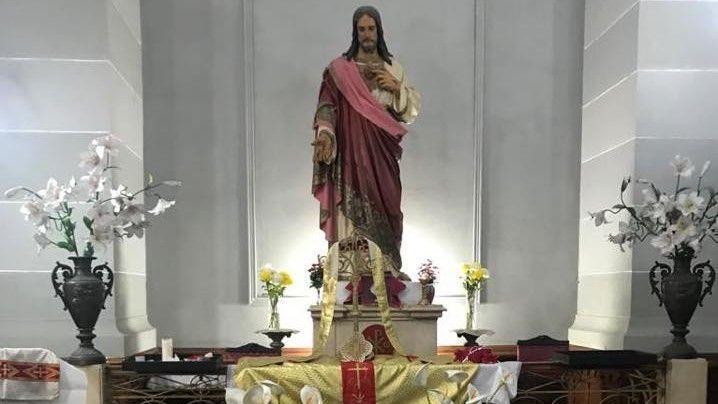 la construcción de la Basílica Sagrado Corazón