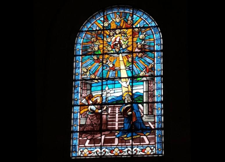 La Catedral de Quilmes vitral