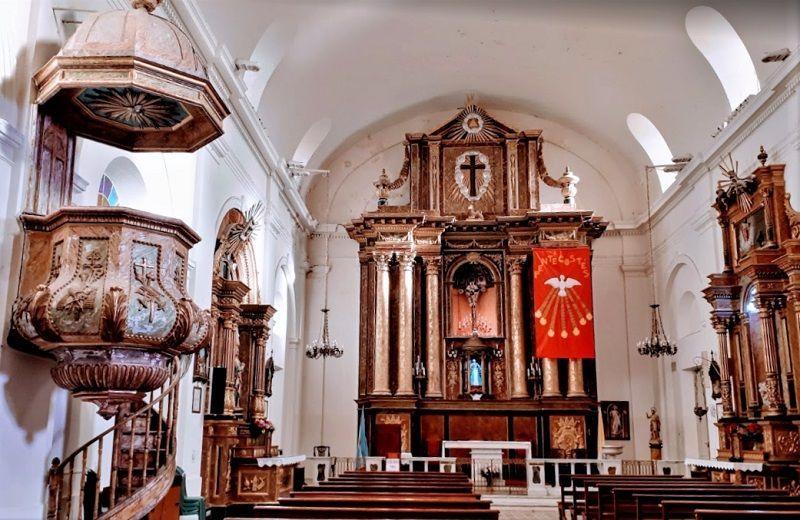 Exaltación de la Cruz, un recorrido por un templo histórico