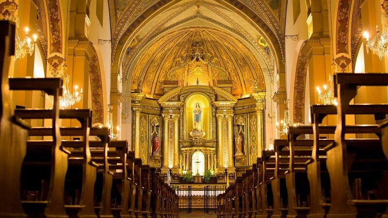 La parroquia Santísimo Sacramento de Tandil