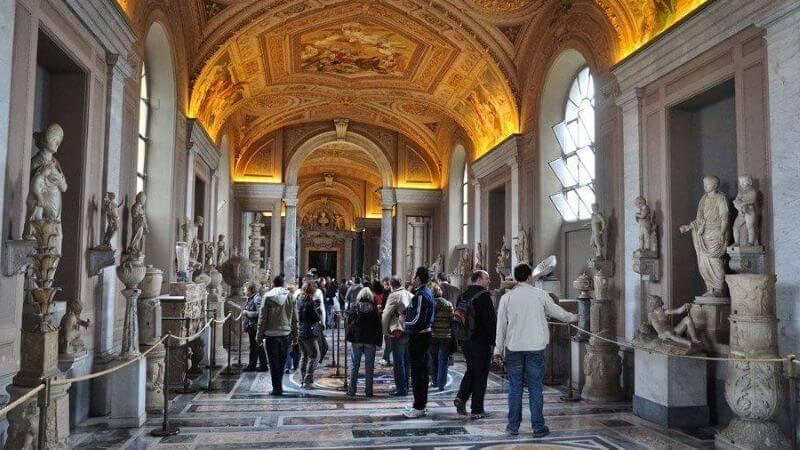 visita a los museos del vaticano