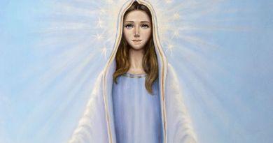 imagen de nuestra señora del cielo