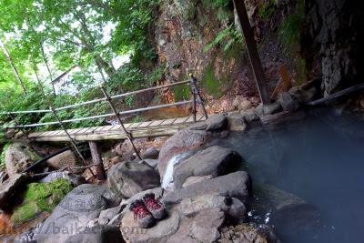 Secret hot spring