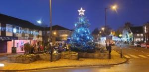 """""""FESTIVE FROLICS"""" or """"CHRISTMAS CAROLLING CAPERS"""".  A Baildon Walkers are Welcome """"WINTER SIXERS"""" guided walk (WITH SINGING). @ Meet at The Potted Meat Stick in centre of Baildon"""