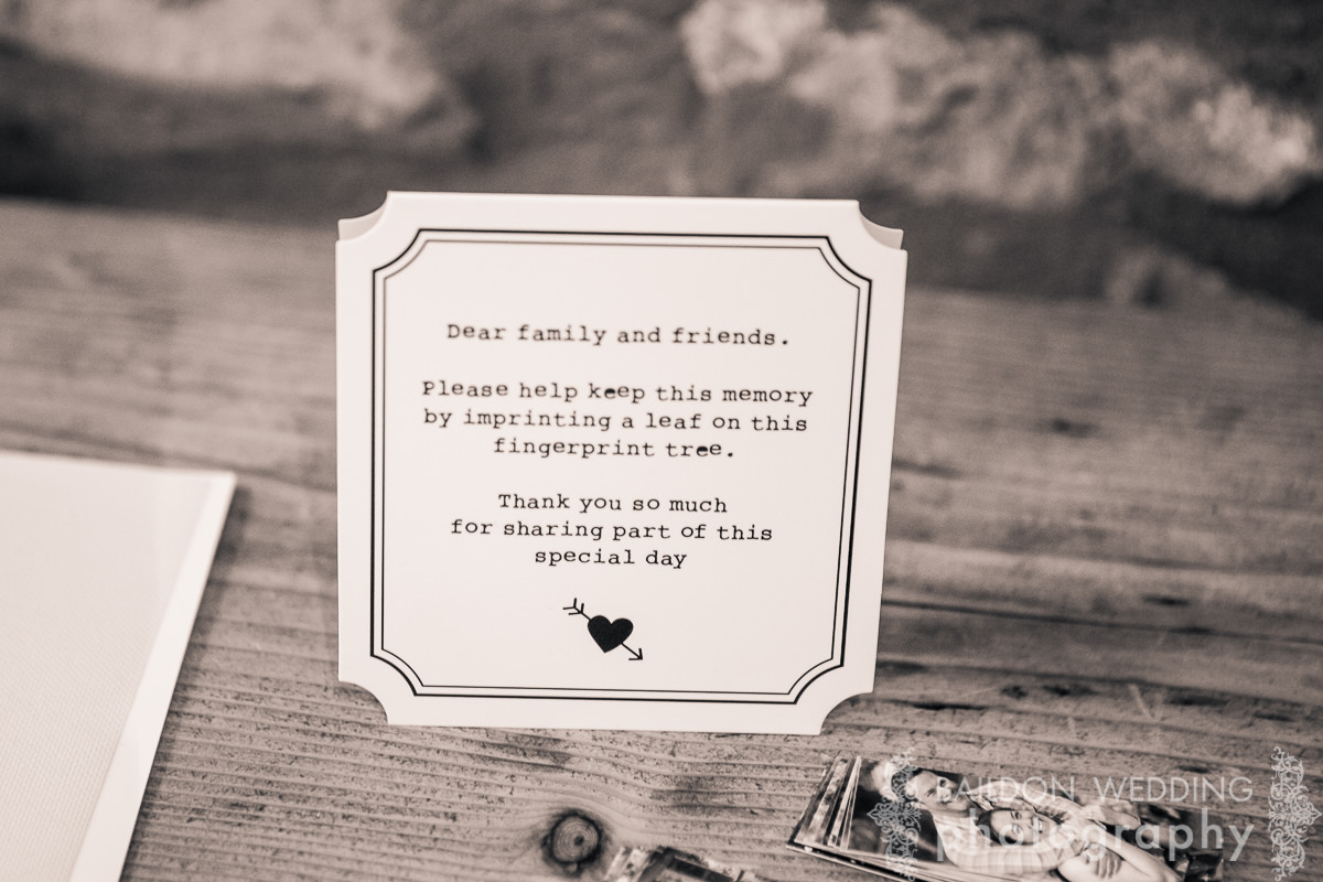 wedding detail