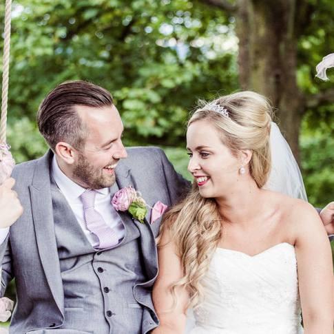 Hollins Hall wedding photo Baildon