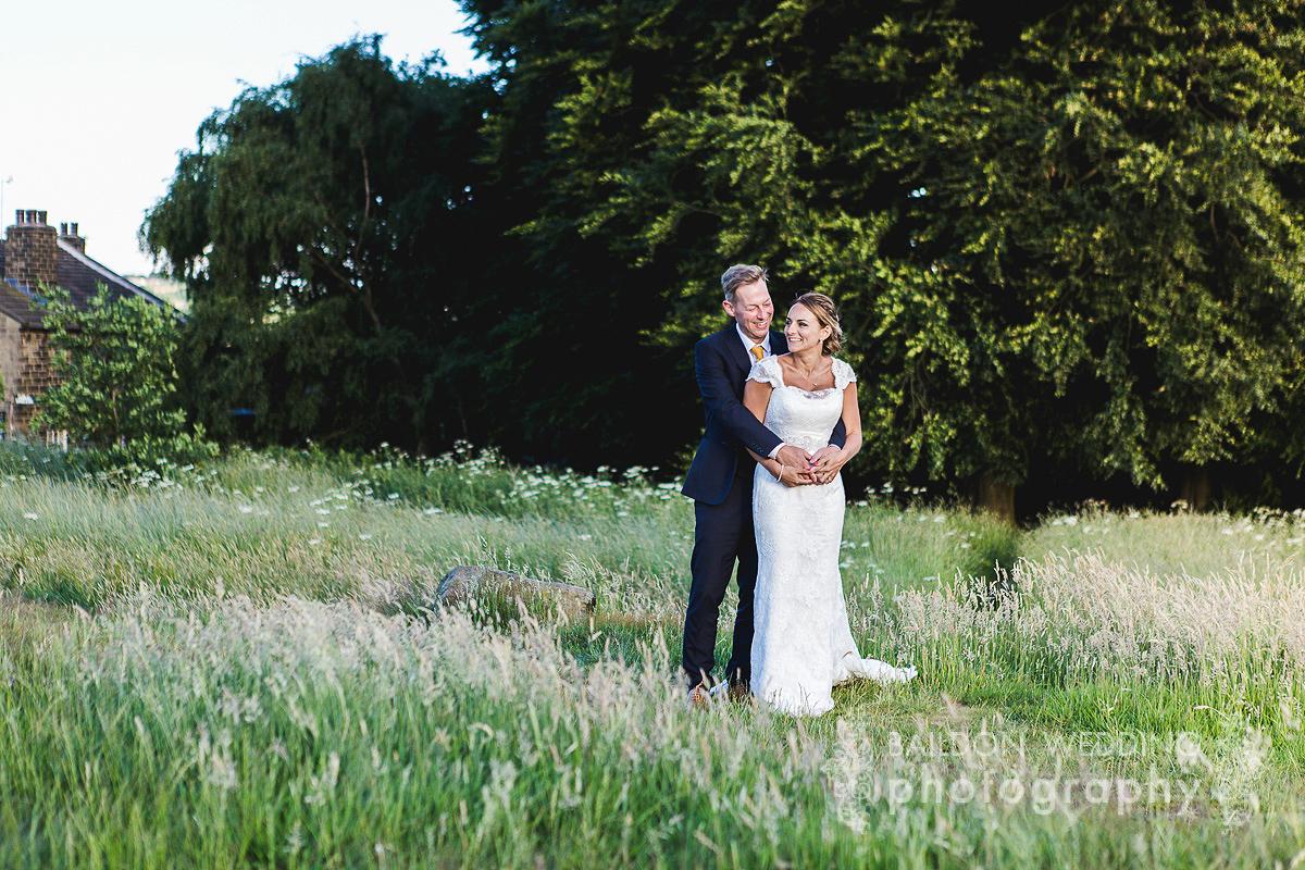 Yorkshire wedding moors