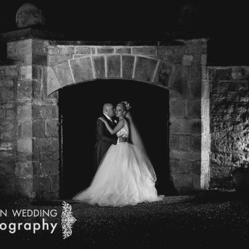 Night shot at Wood Hall weddings Linton near Harewood House
