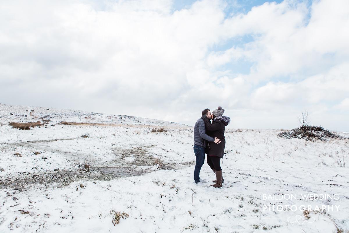 Baildon Moors wedding photographer