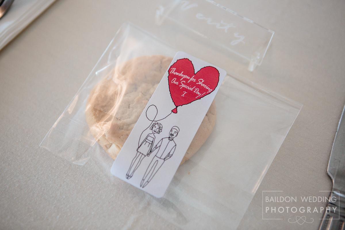Wedding favours cookies