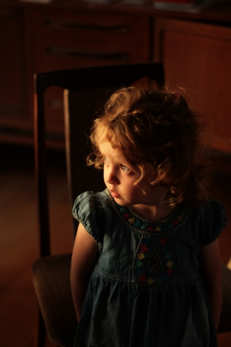 picture of a little girl