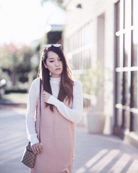 Maggie Chan (@clothestomidnight) in the Melvin Sweater
