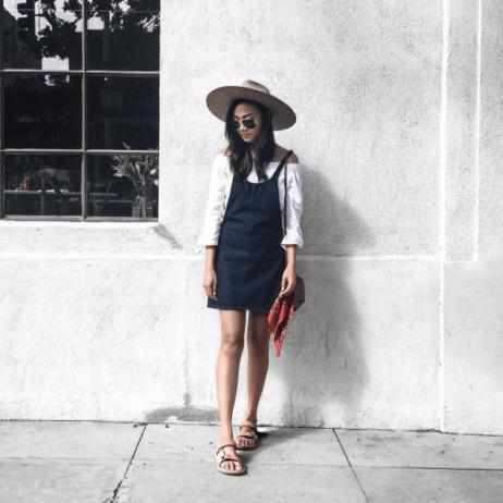 Aimee Santos (@swellmayde) in the Yarrow Top