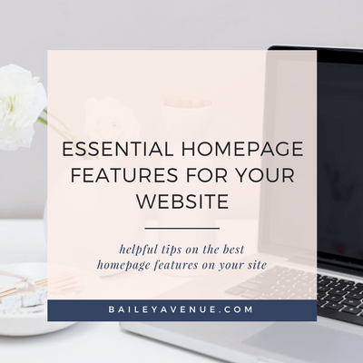 Essential Homepage Features for your Website