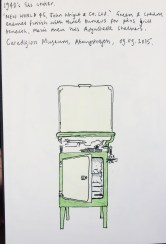 Sketch from life in the Ceredigion Museum, Aberystwyth