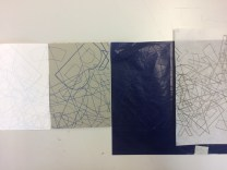 carbon paper transfer