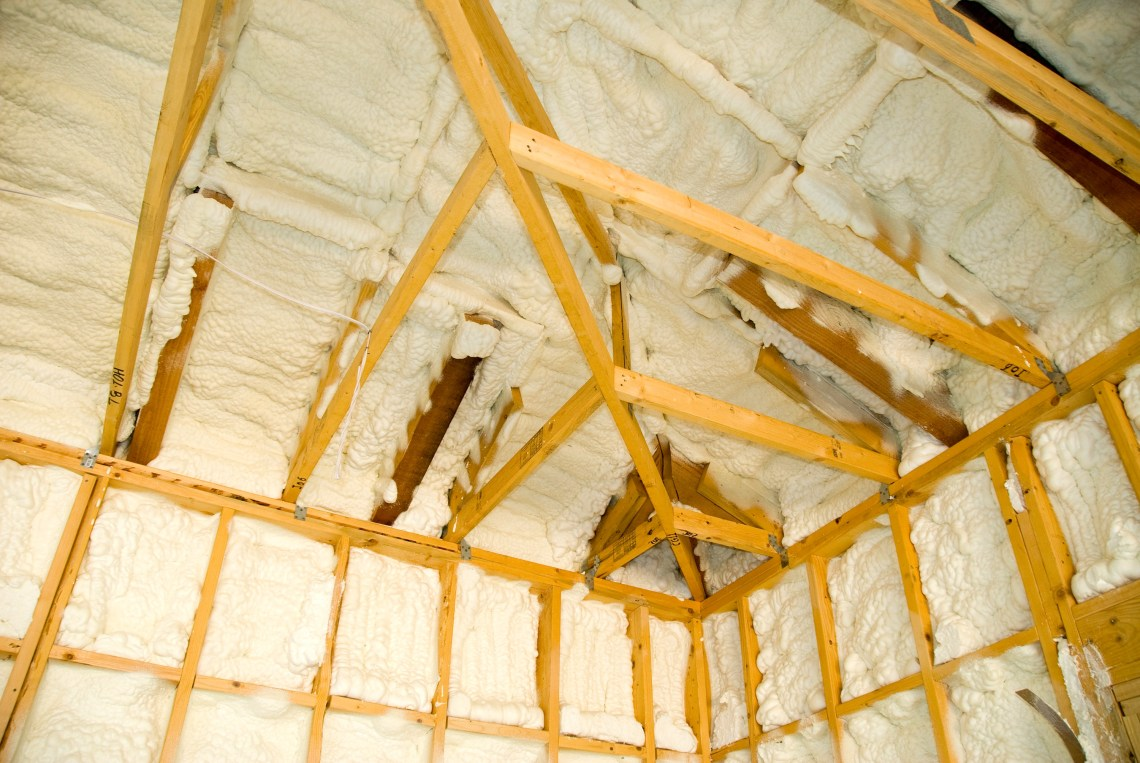 Image Result For Spray Foam Attic Floor Or Rafters