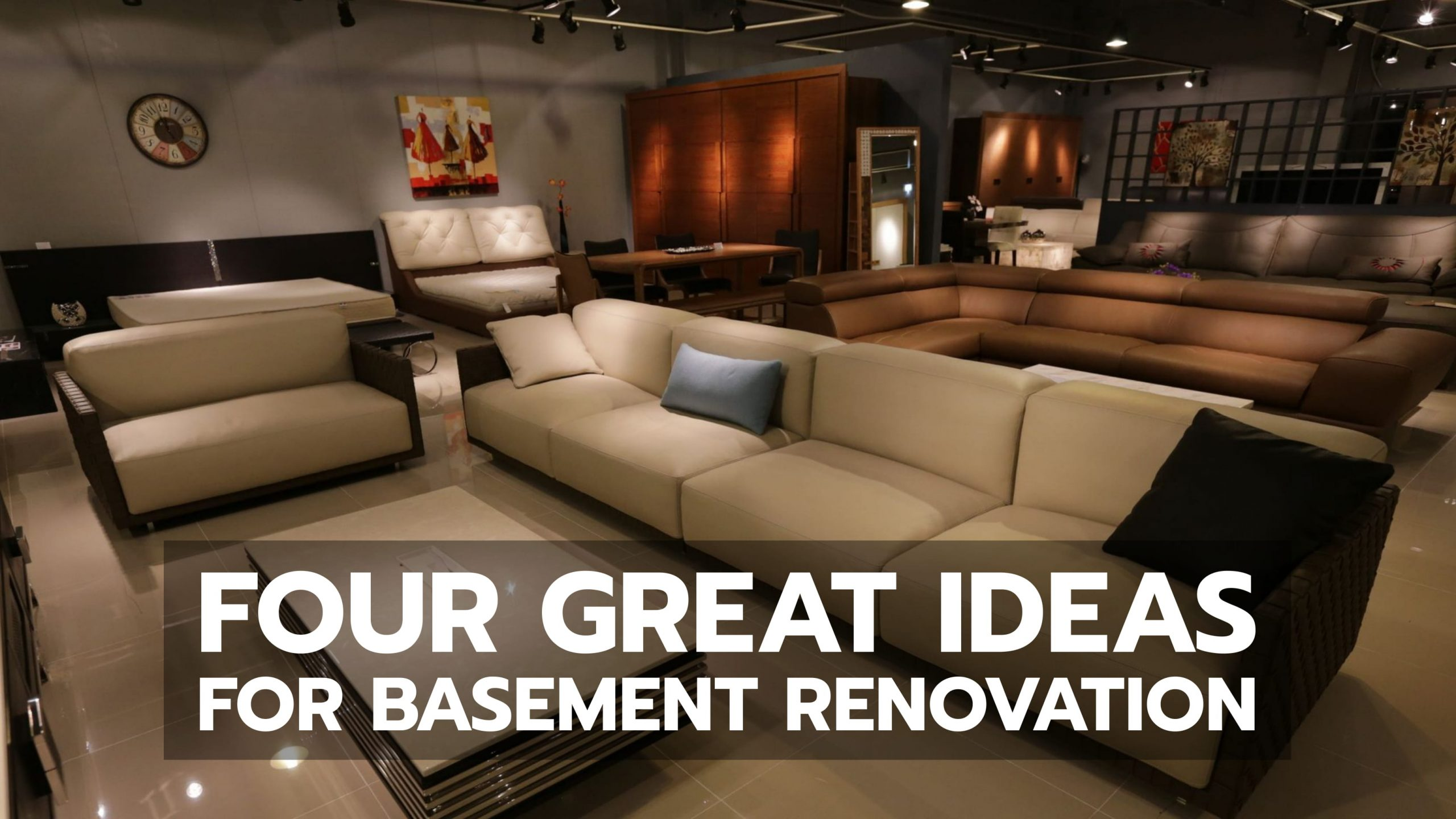 Four Great Ideas For Basement Renovation Baileylineroad
