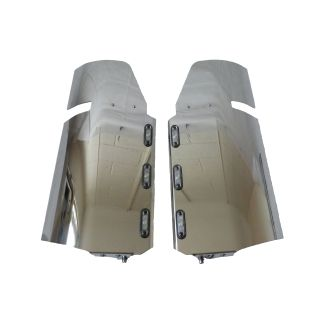 Stainless Steel Scania 4/R LED Mirror Guards