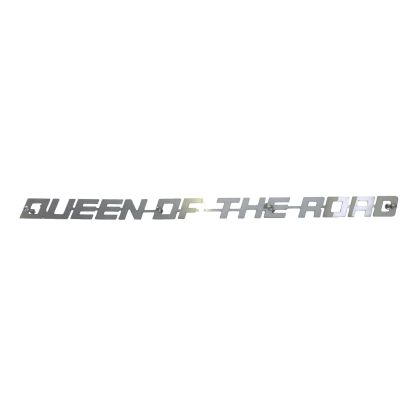 Queen of the Road Grill Badge