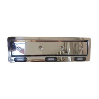 Universal Number Plate Surround 3 LEDs