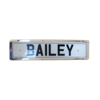 Universal Number Plate Surround