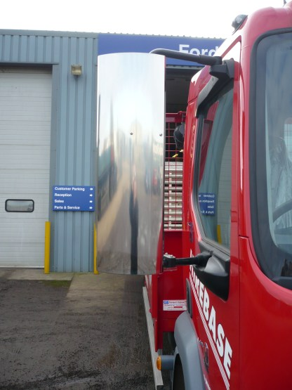 Stainless Steel DAF LF Mirror Guards