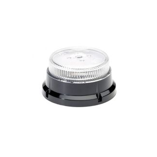 Clear Lens Amber LED Beacon