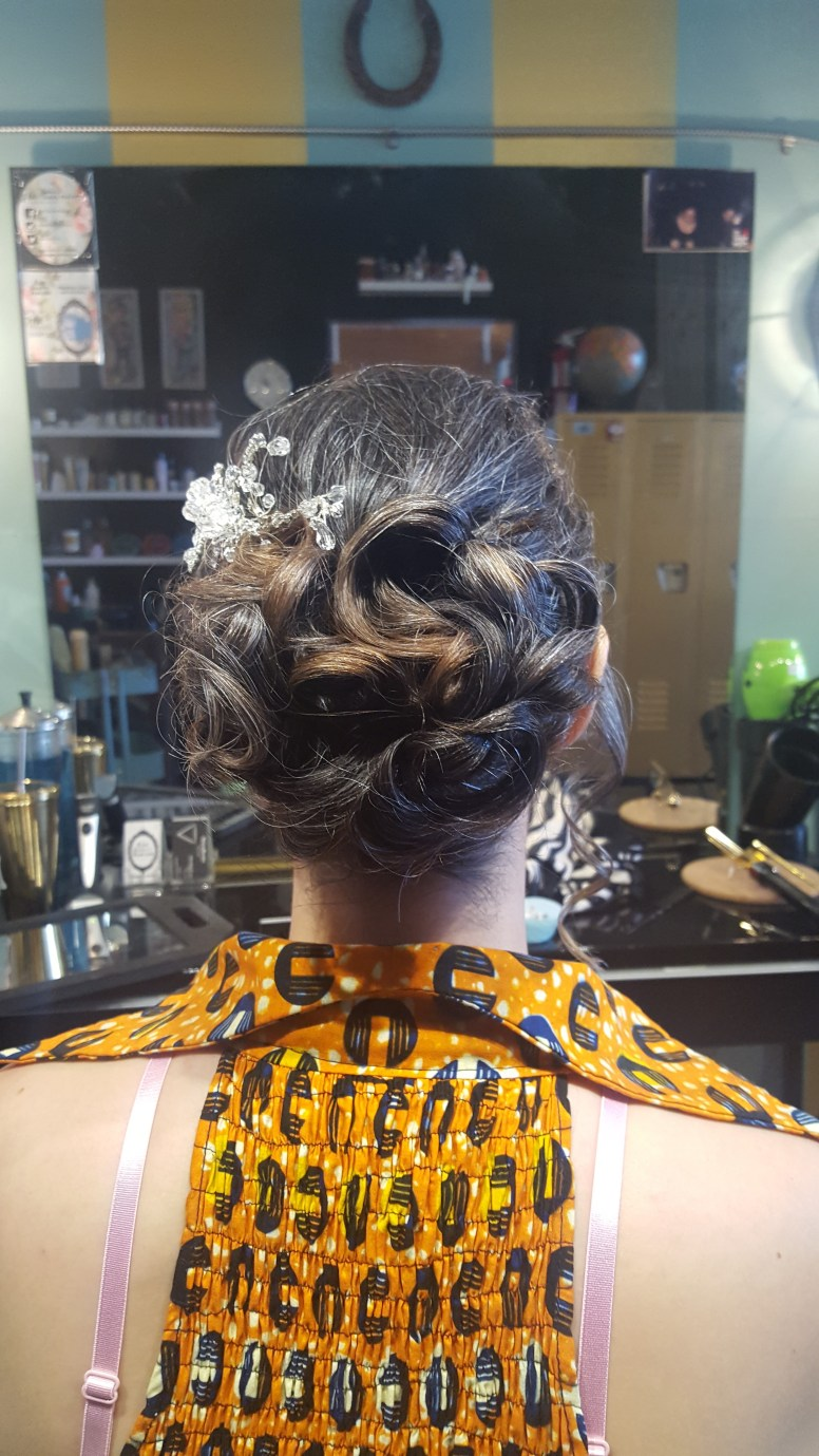 Bridal Updo 2016