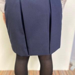 Glenlola 1st to 5th form skirt back