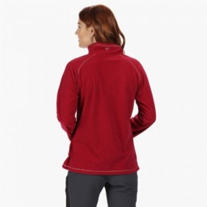 Montes fleece back red