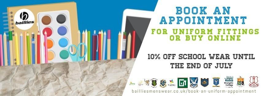 Baillies School Uniform Appointments