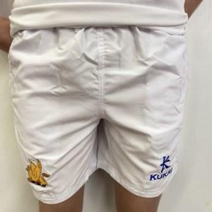 BGS PE Shorts - WHt