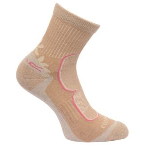Women's 2 Pack Active Socks Toffee