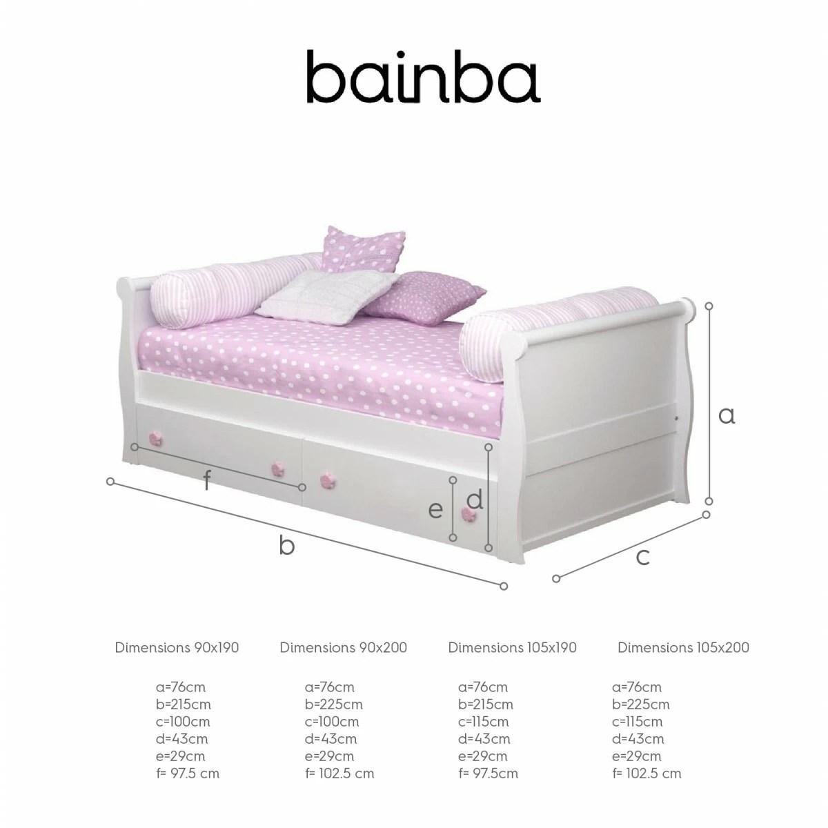 lit enfant avec rangement gondole