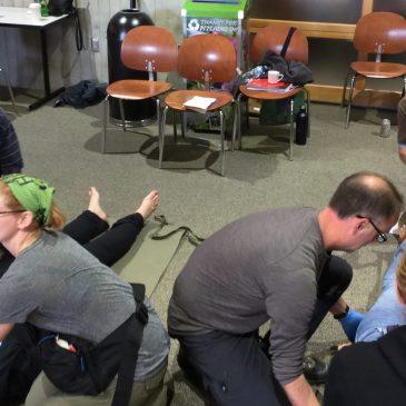 Wilderness First Responder training