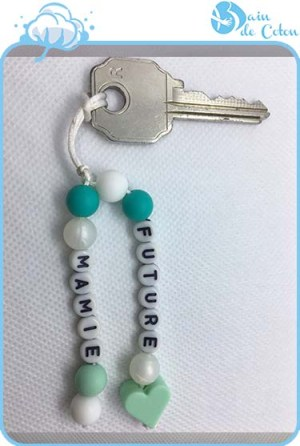 porte clés future mamie