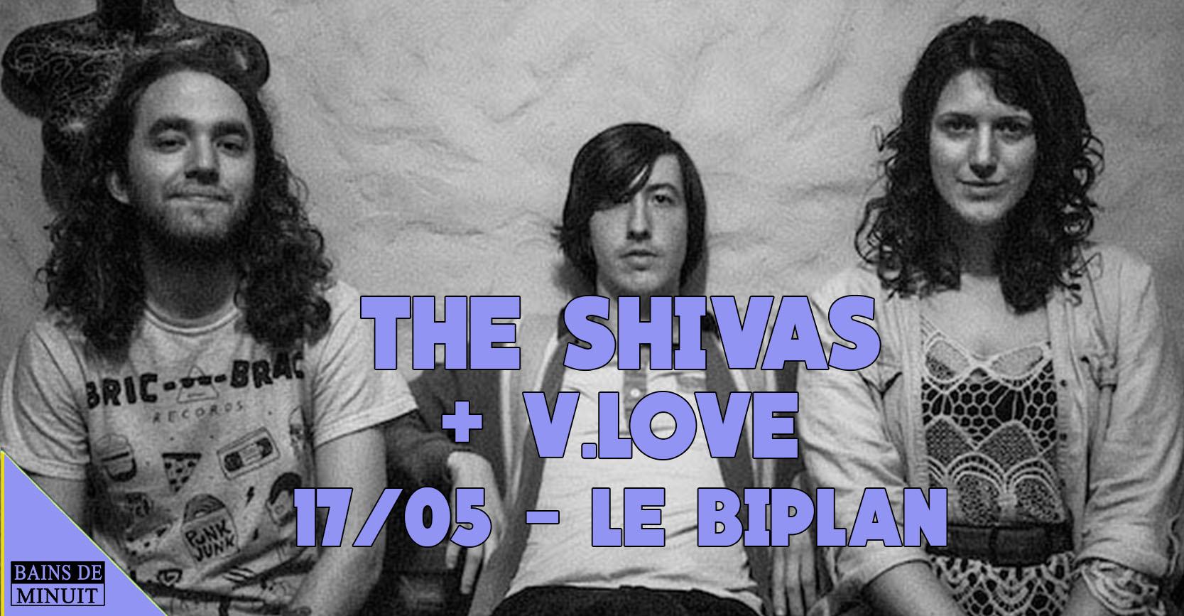 17/05 – THE SHIVAS + V.LOVE / Le Biplan, Lille