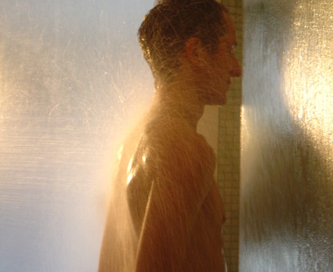 douche au jet