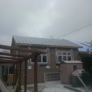 First Roof Flat Almost Complete