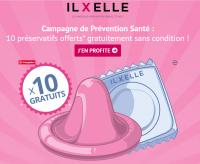 Préservatifs gratuits offerts par le sexshop IlxElle