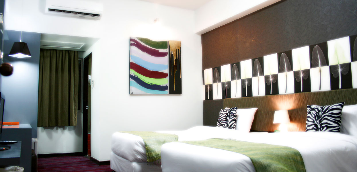 Boutique Suite Room Baiyoke Boutique Hotel Bangkok