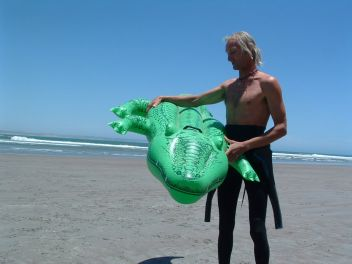 Martiín and the Crocodile