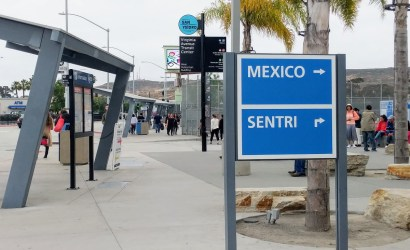 Pedwest to Tijuana Border Crossing pickup location