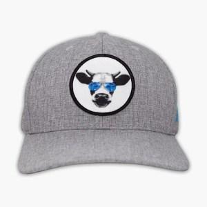 Baja Jerky Flex Fit Hat in Grey