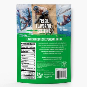 Lime & Serrano Pepper Beef Jerky