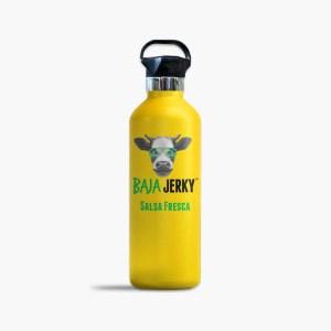 Baja Jerky Yellow Water Bottle