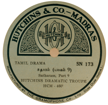 Hutchins Record, Hutchins & Co., Madras